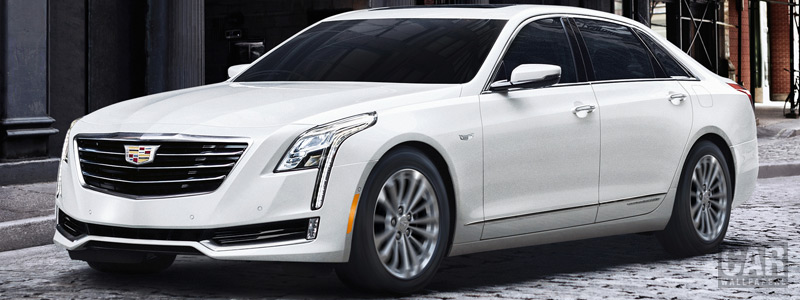 Обои автомобили Cadillac CT6 Plug-In Hybrid - 2016 - Car wallpapers