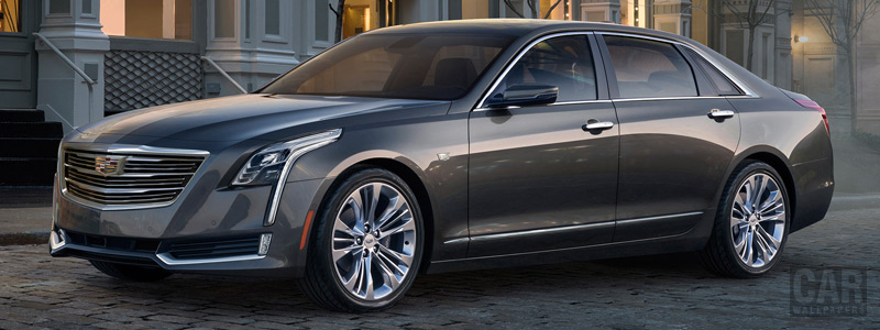 Обои автомобили Cadillac CT6 - 2016 - Car wallpapers