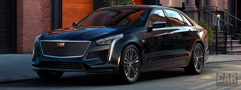 Обои автомобили Cadillac CT6 V-Sport - 2018 - Car wallpapers