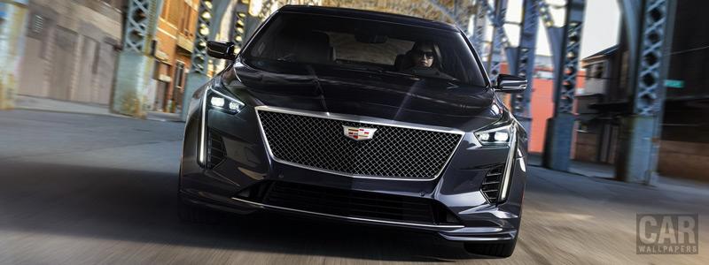 Обои автомобили Cadillac CT6-V - 2019 - Car wallpapers