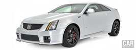 Cadillac CTS-V Coupe Silver Frost Edition - 2013