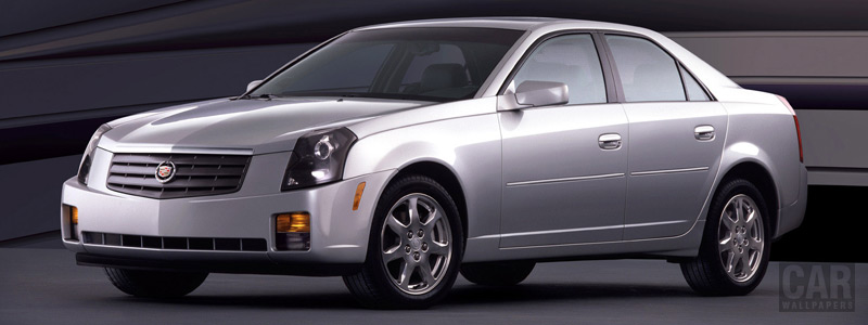 Обои автомобили Cadillac CTS - 2003 - Car wallpapers
