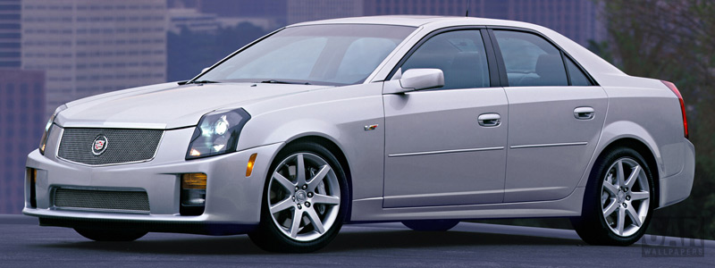 Обои автомобили Cadillac CTS-V - 2004 - Car wallpapers