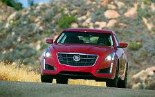 Обои автомобили Cadillac CTS Vsport - 2014