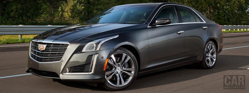 Обои автомобили Cadillac CTS Vsport - 2015 - Car wallpapers