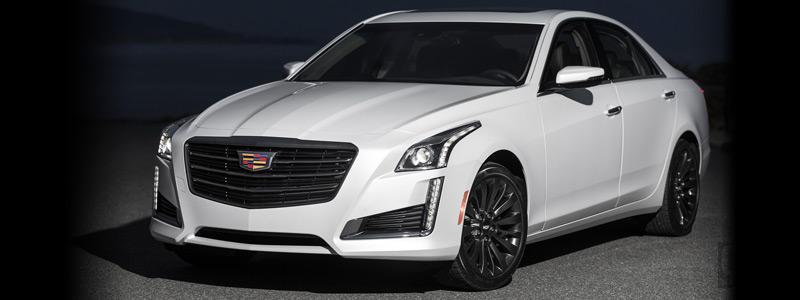 Обои автомобили Cadillac CTS Black Chrome Package - 2016 - Car wallpapers