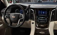 Обои автомобили Cadillac Escalade Platinum - 2018