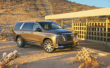 Обои автомобили Cadillac Escalade Platinum Luxury - 2020