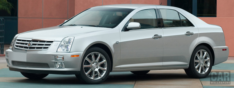 Cars wallpapers Cadillac STS - 2005 - Car wallpapers