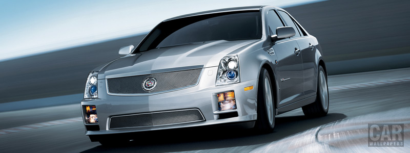 Cars wallpapers Cadillac STS-V - 2008 - Car wallpapers