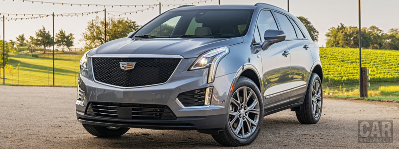 Обои автомобили Cadillac XT5 Sport - 2019 - Car wallpapers