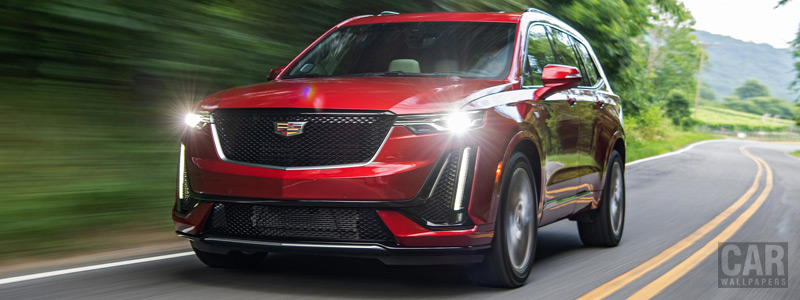 Обои автомобили Cadillac XT6 Sport - 2019 - Car wallpapers
