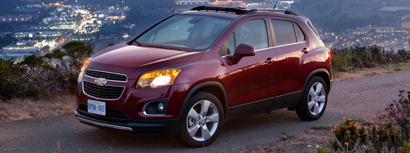 Cars wallpapers Chevrolet Trax CA-spec - 2013 - Car wallpapers