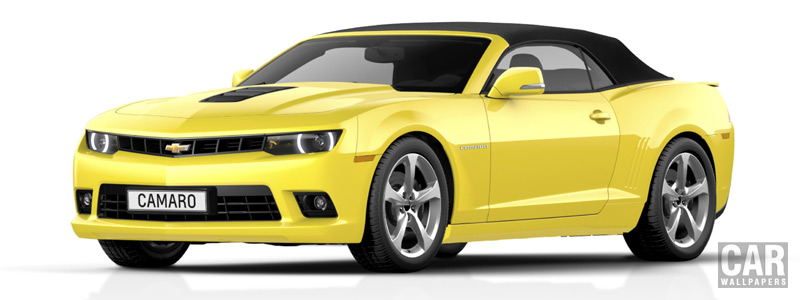 Обои автомобили Chevrolet Camaro Convertible EU-spec - 2014 - Car wallpapers