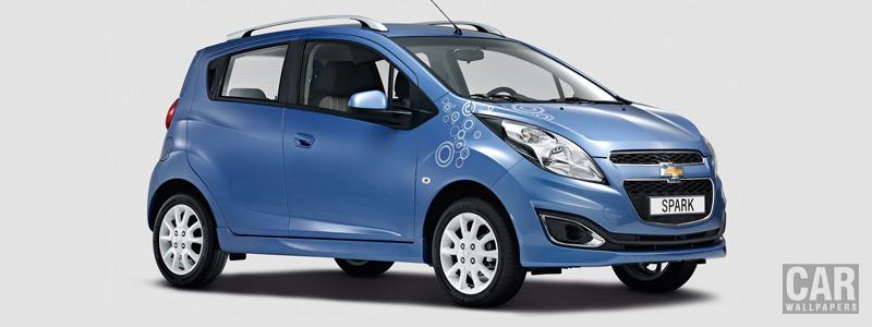 Обои автомобили Chevrolet Spark Bubble EU-spec - 2013 - Car wallpapers