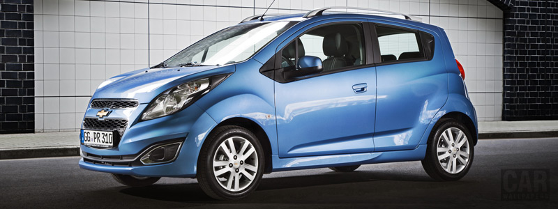 Обои автомобили Chevrolet Spark EU-spec - 2013 - Car wallpapers