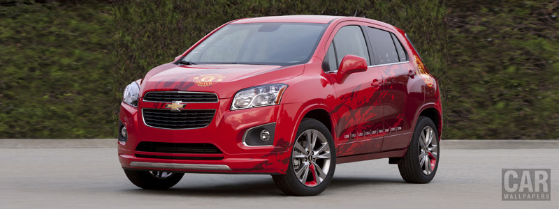Обои автомобили Chevrolet Trax Manchester United EU-spec - 2012 - Car wallpapers