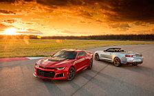Обои автомобили Chevrolet Camaro ZL1 Convertible - 2016