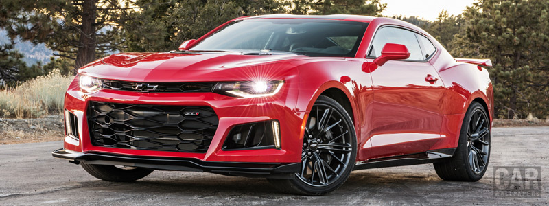 Обои автомобили Chevrolet Camaro ZL1 - 2016 - Car wallpapers