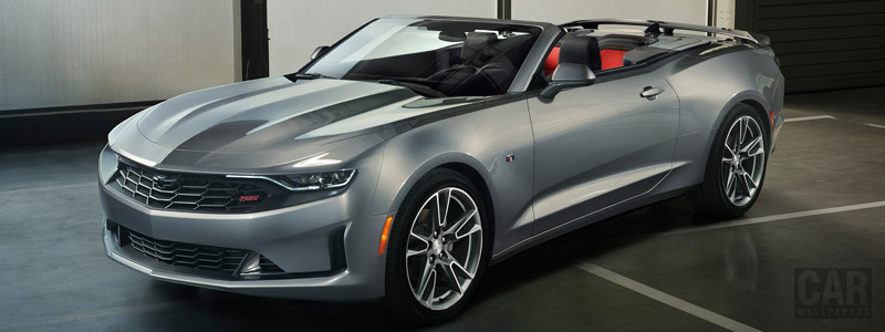 Обои автомобили Chevrolet Camaro RS Convertible - 2018 - Car wallpapers