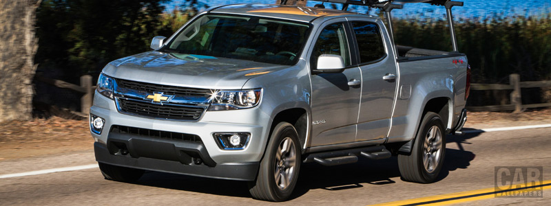 Обои автомобили Chevrolet Colorado LT Crew Cab - 2014 - Car wallpapers