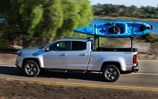Обои автомобили Chevrolet Colorado LT Crew Cab - 2014