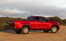 Обои автомобили Chevrolet Colorado LT Extended Cab - 2014