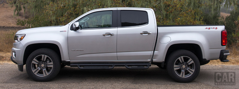 Обои автомобили Chevrolet Colorado LT Crew Cab Duramax Diesel - 2015 - Car wallpapers