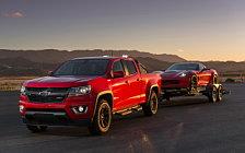 Обои автомобили Chevrolet Colorado Z71 Crew Cab Duramax Diesel - 2015