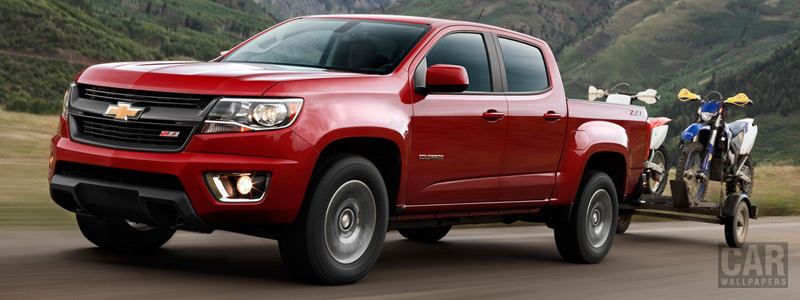 Обои автомобили Chevrolet Colorado Z71 Crew Cab - 2015 - Car wallpapers