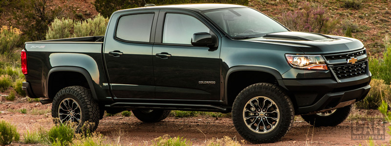 Обои автомобили Chevrolet Colorado ZR2 Crew Cab - 2017 - Car wallpapers