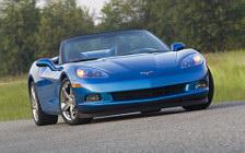 Обои Chevrolet Corvette Convertible 2008