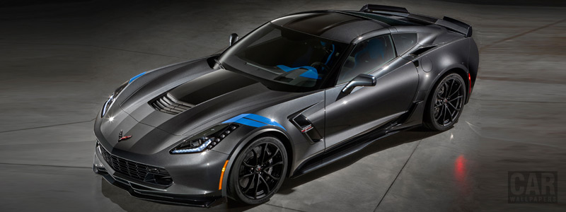 Обои автомобили Chevrolet Corvette Grand Sport Collector Edition - 2016 - Car wallpapers