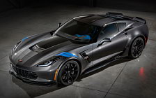 Обои автомобили Chevrolet Corvette Grand Sport Collector Edition - 2016