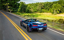 Обои автомобили Chevrolet Corvette Grand Sport Convertible - 2016