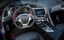 Обои автомобили Chevrolet Corvette Grand Sport Convertible - 2016