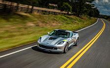 Обои автомобили Chevrolet Corvette Grand Sport - 2016