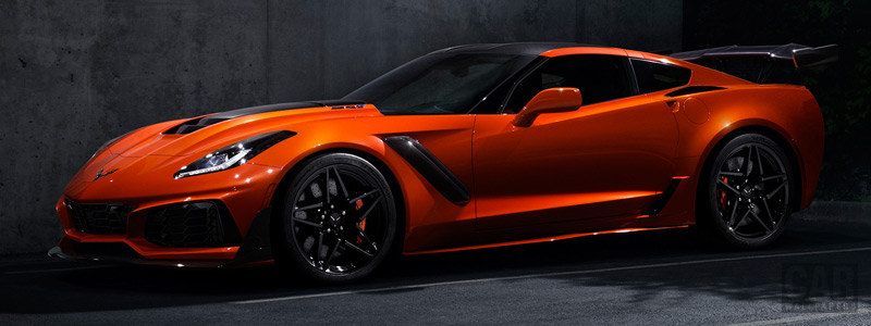 Обои автомобили Chevrolet Corvette ZR1 - 2018 - Car wallpapers