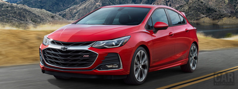 Обои автомобили Chevrolet Cruze Hatch RS - 2018 - Car wallpapers