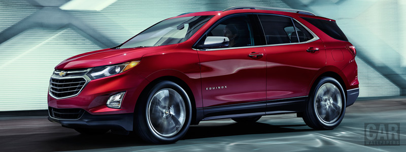 Обои автомобили Chevrolet Equinox Premier - 2017 - Car wallpapers