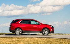 Обои автомобили Chevrolet Equinox Premier - 2017