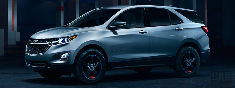 Обои автомобили Chevrolet Equinox Redline - 2017 - Car wallpapers