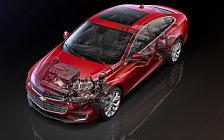 Обои автомобили Chevrolet Malibu Hybrid - 2017