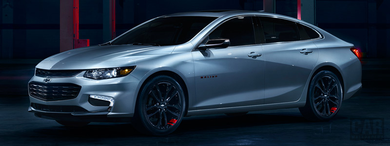 Обои автомобили Chevrolet Malibu Redline - 2017 - Car wallpapers
