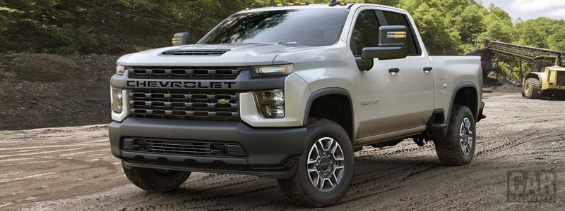 Обои автомобили Chevrolet Silverado 2500 HD Work Truck - 2019 - Car wallpapers