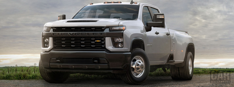 Обои автомобили Chevrolet Silverado 3500 HD DRW Work Truck - 2019 - Car wallpapers