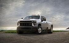 Обои автомобили Chevrolet Silverado 3500 HD DRW Work Truck - 2019