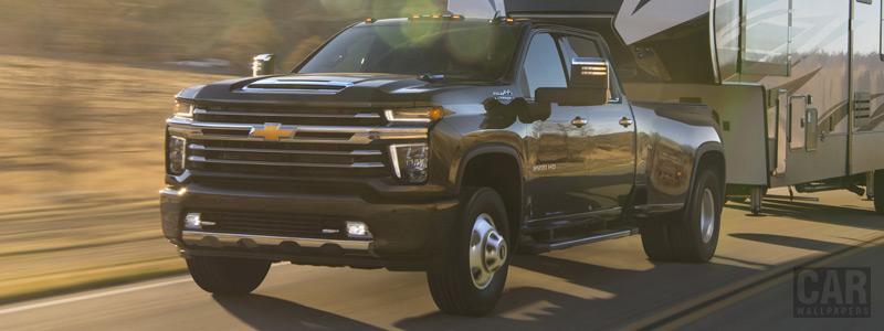 Обои автомобили Chevrolet Silverado 3500 HD High Country Crew Cab - 2019 - Car wallpapers