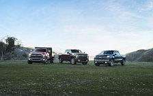 Обои автомобили Chevrolet Silverado LTZ Duramax Crew Cab - 2019