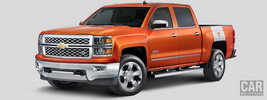 Chevrolet Silverado LTZ University of Texas Edition Crew Cab - 2015
